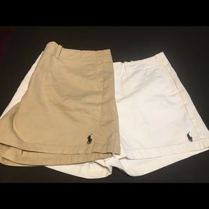 Ralph Lauren Polo Shorts Sz 12